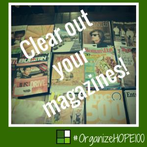 #OrganizeWithHOPE100 - 13 - magazines