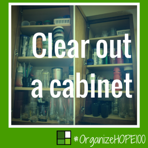 #OrganizeWithHOPE100 - 16 - cabinet