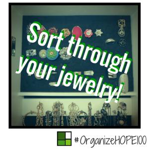#OrganizeWithHOPE100 -25- jewelry
