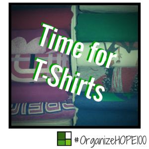 #OrganizeWithHOPE100 -29- tshirts