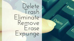 Delete your Photos